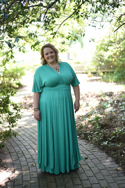 Amelia Maxi - Emerald Green xs - Large