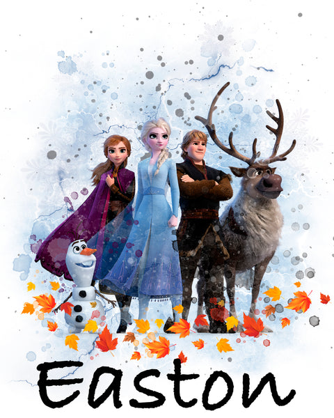 Frozen 2 -  Group Scene - T-Shirt