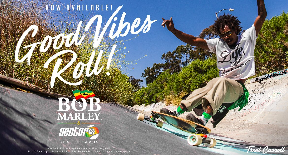 Bob Marley X Sector 9 Collection