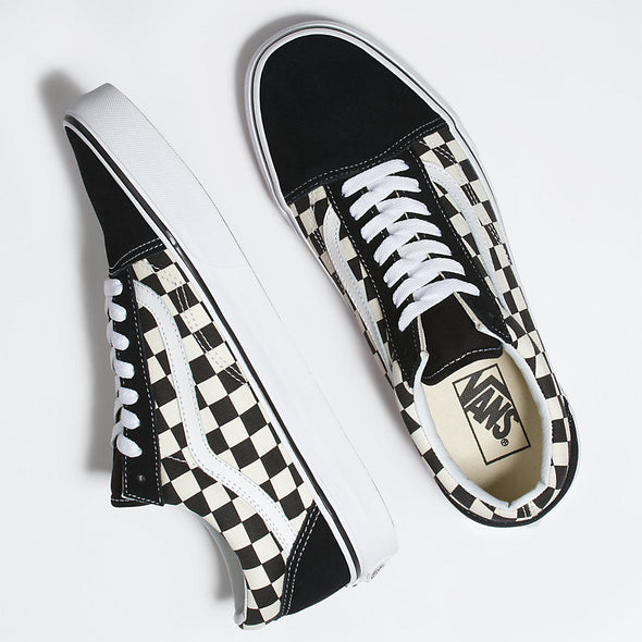 Vans Kids Primary Check Old Skool Shoes - Mainland Skate & Surf