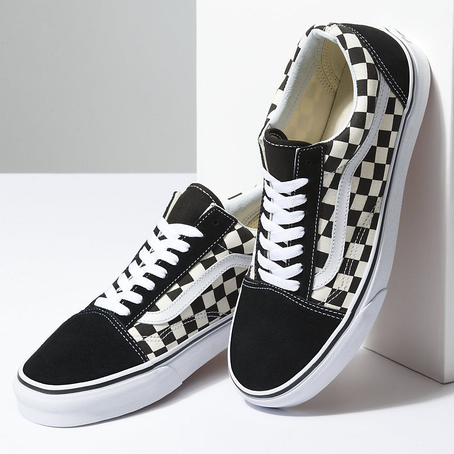 8da64b91e7709 Vans Primary Check Old Skool Shoes – Mainland Skate   Surf