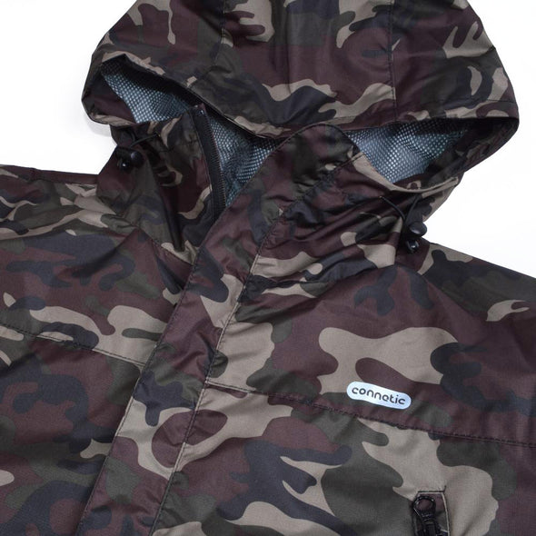 Connetic Hooded Tech Jacket (All Weather) - Mainland Skate & Surf