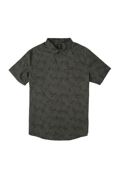 RVCA Shimmy Button-Up Shirt - Mainland Skate & Surf