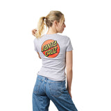 Santa Cruz Womens Classic Dot Fitted Tee