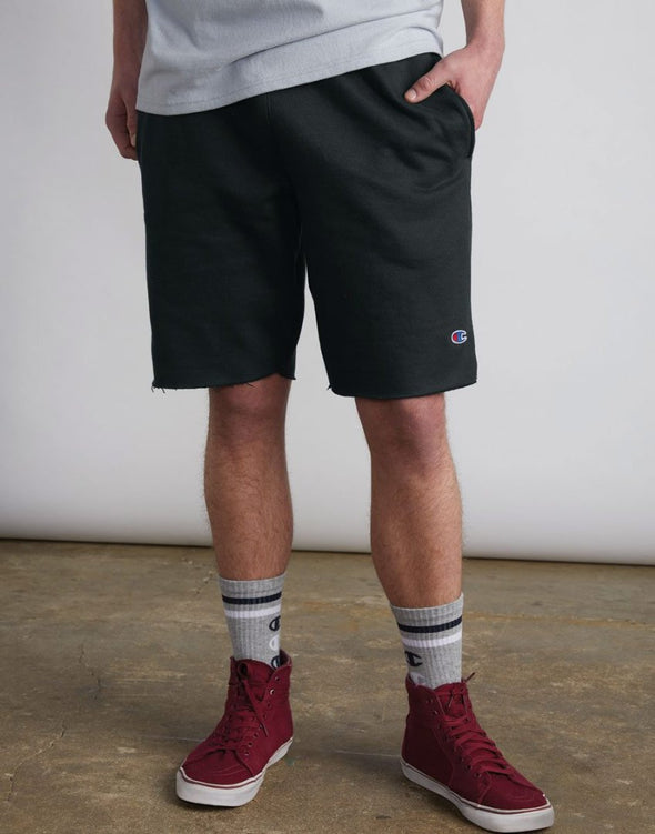 Champion Reverse Weave Cut Off Shorts - Mainland Skate & Surf
