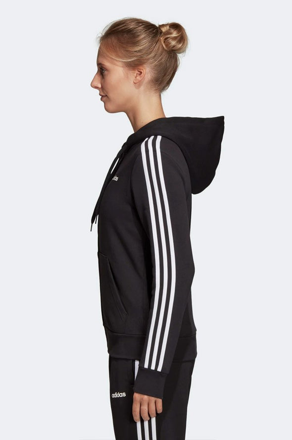 Adidas Essentials 3-Stripes Fleece Hoodie - Mainland Skate & Surf