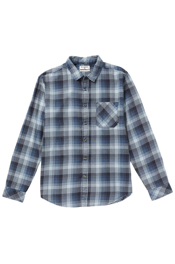 Billabong Freemont Plaid Flannel Shirt - Mainland Skate & Surf
