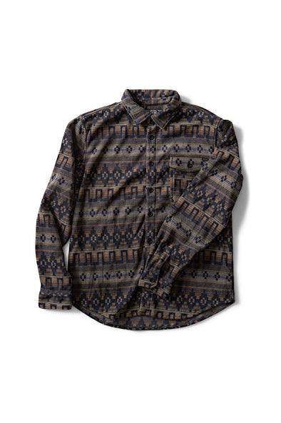 Billabong Furnace Polar Fleece Flannel Shirt - Mainland Skate & Surf