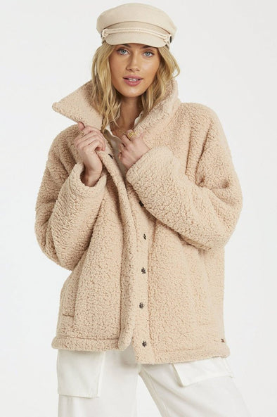Billabong Cozy Days Sherpa Jacket - Mainland Skate & Surf
