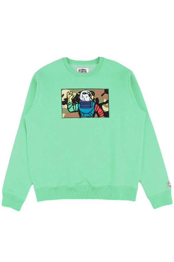 Billionaire Boys Club BB Astro Camo Crewneck - Mainland Skate & Surf