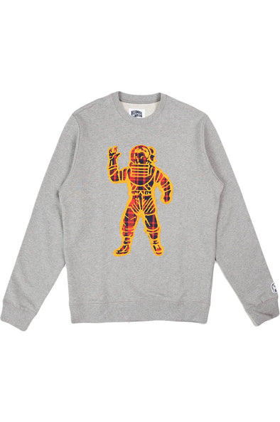 Billionaire Boys Club BB Plaid Naut Crewneck