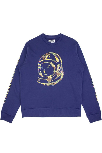 Billionaire Boys Club BB Camo Helmet Crewneck - Mainland Skate & Surf
