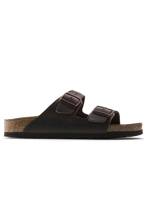 Birkenstock Arizona Soft Footbed Oiled Nubuck Leather Narrow Fit Unisex Sandals - Mainland Skate & Surf