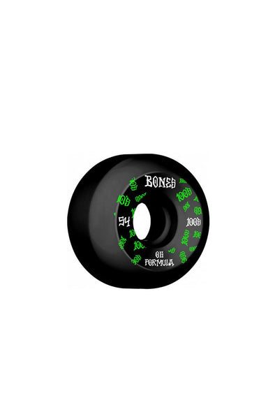 Bones Wheels Bones 100 #3 V5 Sidecut 54mm Wheels