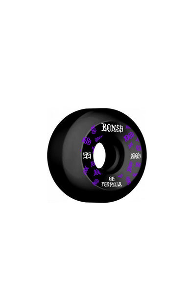 Bones Wheels Bones 100 #3 V5 Sidecut 55mm Wheels - Mainland Skate & Surf
