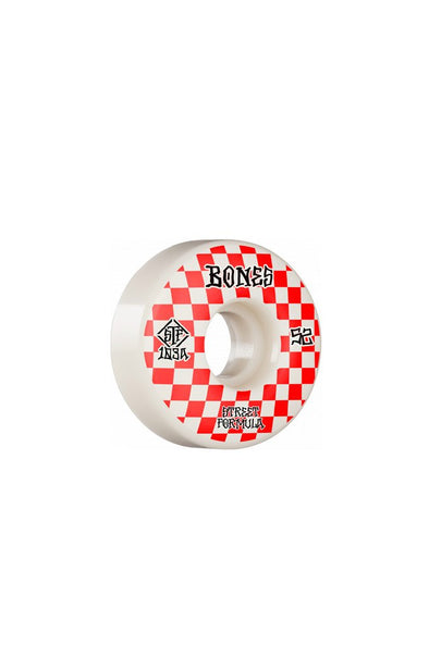 Bones Wheels Bones Patterns V3 Slims 52mm Wheels - Mainland Skate & Surf