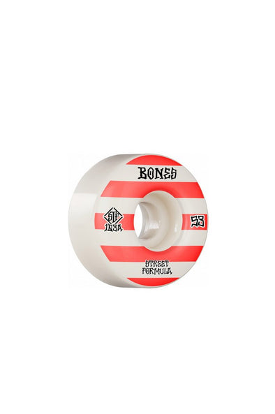 Bones Wheels Bones Patterns V4 Wide STF 53mm Wheels - Mainland Skate & Surf