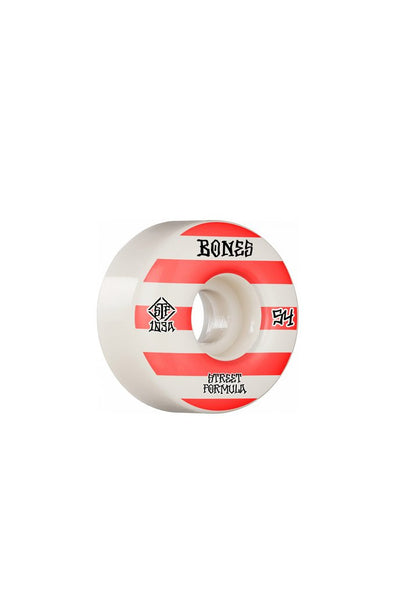 Bones Wheels Bones Patterns V4 Wide STF 54mm Wheels - Mainland Skate & Surf