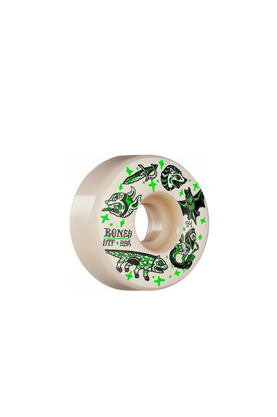 Bones Wheels Dark Knights V1 Standard STF 54mm Wheels - Mainland Skate & Surf