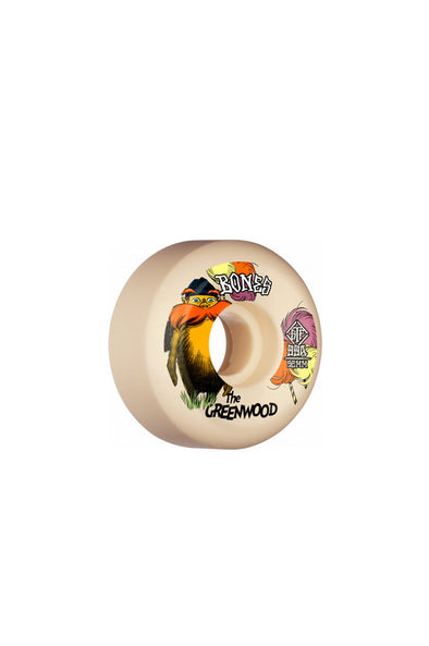 Bones The Greenwood V5 Sidecut 52mm Wheels