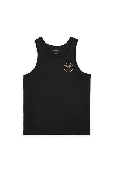 Brixton Wheeler Tank Top - Mainland Skate & Surf