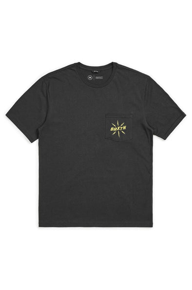 Brixton Adapter lll Pocket Tee - Mainland Skate & Surf