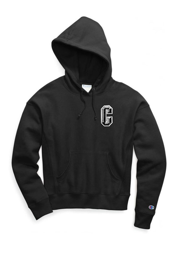 Champion Reverse Weave Pullover Women's Hoodie, Floss Stitch C - Mainland Skate & Surf