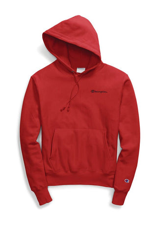 Champion Reverse Weave Pullover Hoodie, Embroidered Logo