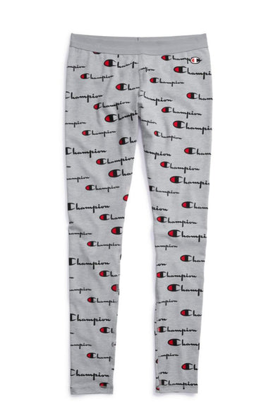 Champion Everyday Women's Tights, All Over Logo