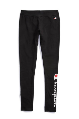 Champion Women's Tights, Vertical Logo