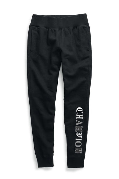 Champion Women's Reverse Weave Joggers, Old English - Mainland Skate & Surf