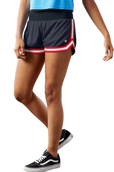 Champion Mesh Notch Women's Shorts - Mainland Skate & Surf