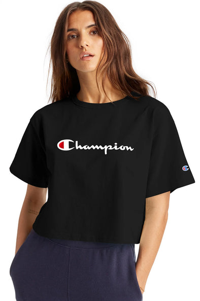 Champion Heritage Cropped Womens Tee