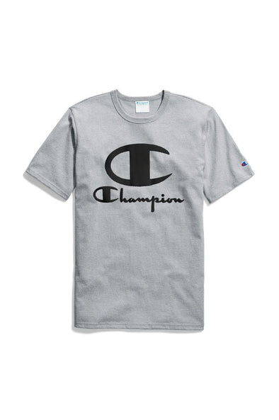 Champion Heritage Tee, Multi Tech Graphics Furry Poly Logo - Mainland Skate & Surf
