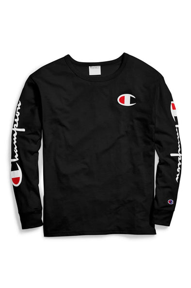 Champion Original Long-Sleeve Women's Tee, Big C Logo - Mainland Skate & Surf