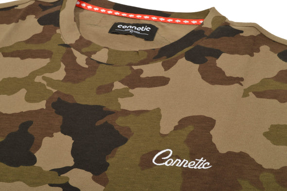 Connetic Camo Tee - Mainland Skate & Surf