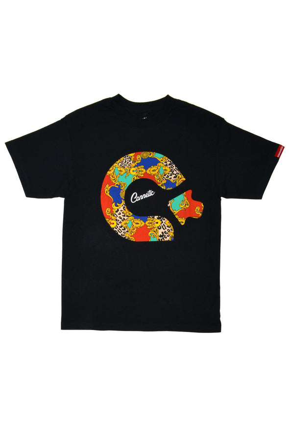 Connetic Baroque Logo Tee - Mainland Skate & Surf