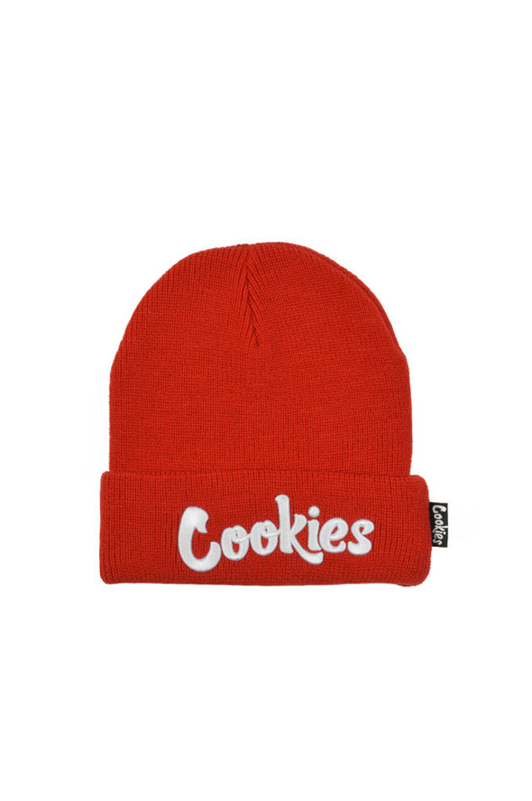 Cookies Original Mint Embroidered Knit Beanie - Mainland Skate & Surf