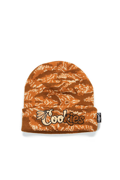 Cookies Top Of The Key Tiger Camo Beanie