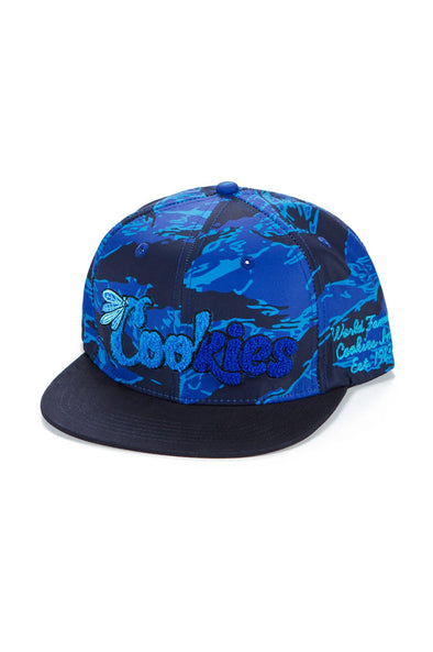 Cookies Top of the Key Embroidered Snapback