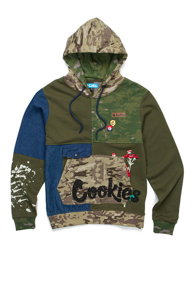 Cookies Backcountry Color Blocked Pullover Hoodie