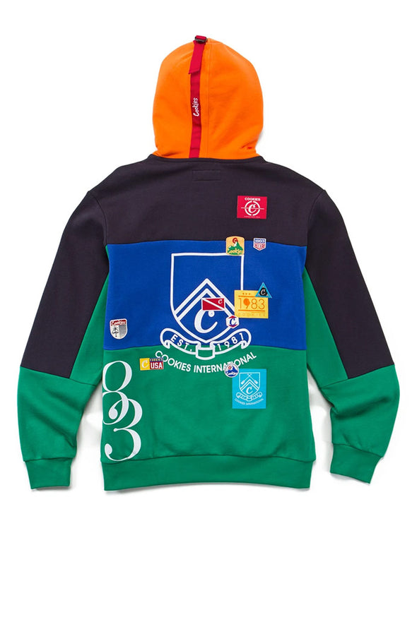 Cookies Colores Colorblocked Pullover Hoodie