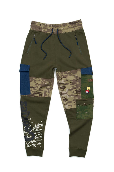 Cookies Backcountry Color Blocked Sweatpants