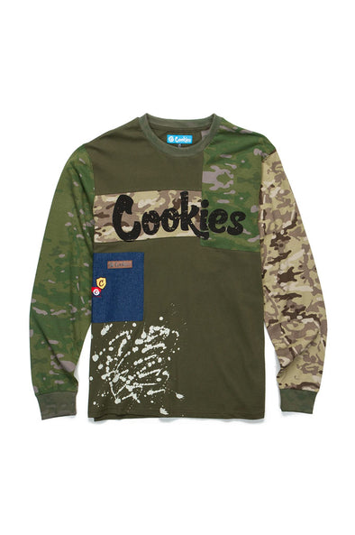 Cookies Backcountry Cotton Jersey Long Sleeve Tee