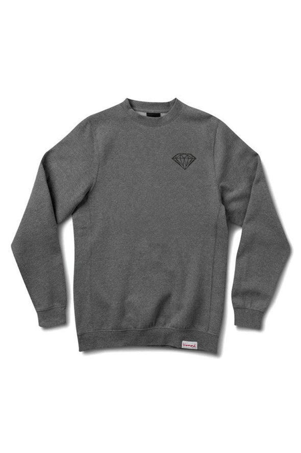 Diamond Brilliant Crewneck Sweater - Mainland Skate & Surf