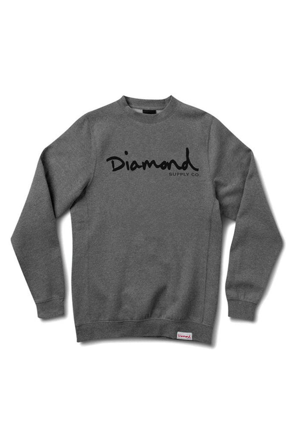 Diamond OG Script Crewneck - Mainland Skate & Surf