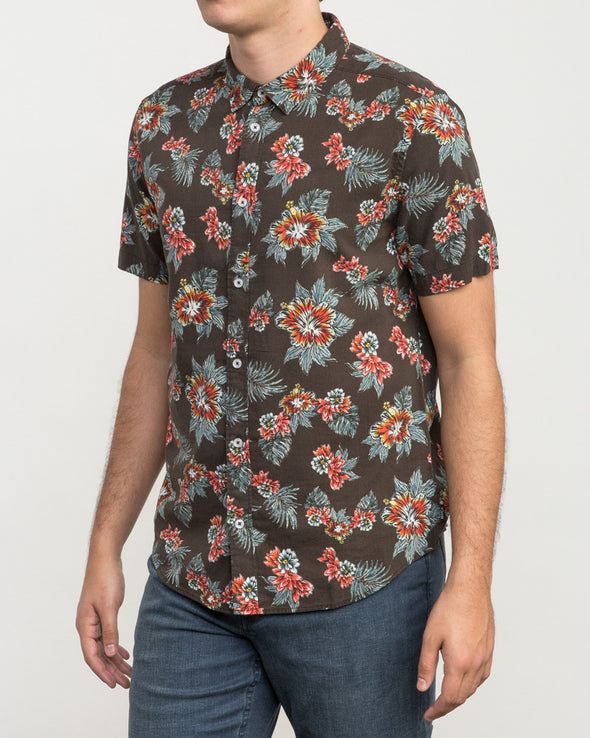 RVCA McMillan Floral Button-Up Shirt - Mainland Skate & Surf