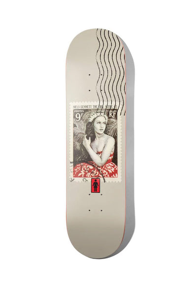 "Girl Skateboards Bennett Postal 8.25"" Deck"