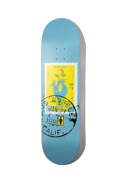 "Girl Skateboards Gass Postal 8.5"" Deck"