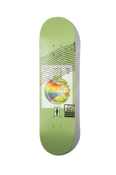 "Girl Skateboards Malto Postal 8.25"" Deck"